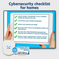Cybersecurity Checklist for Connected Homes